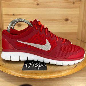 Nike Flex Fury 2015 RN (GS) Red Athletic Shoes
